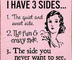 side, crazy, and fun image