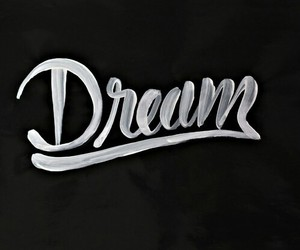 Dream, black and white, and hipster image