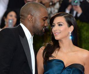couple, fashion, and kim kardashian image