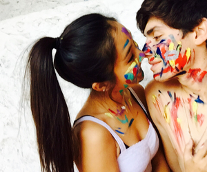 paint and love image