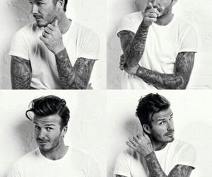 David Beckham, sexy, and tattoo image