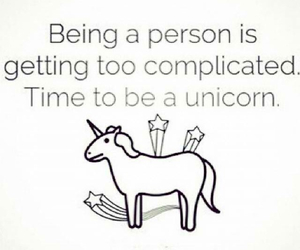 unicorn, complicated, and person image
