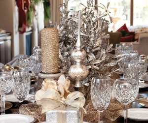 china, christmas, and tablescapes image