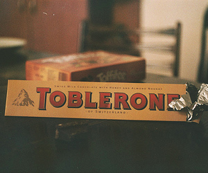toblerone, chocolate, and vintage image