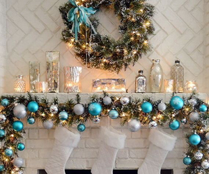 christmas, blue, and december image