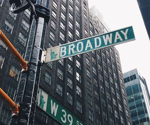broadway and new york image