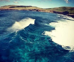 easter island, ocean, and relax image
