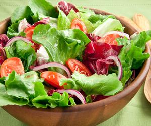 salad, food, and healthy food image