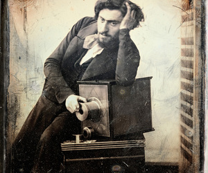 french, photographer, and self-portrait image