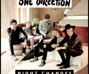 four, louis tomlinson, and night changes image