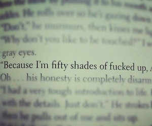 book, fifty shades of grey, and quotes image