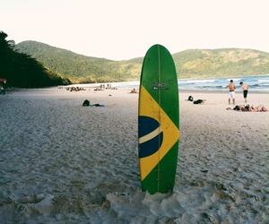 beach and brazil image