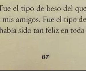 amor, beso, and book image