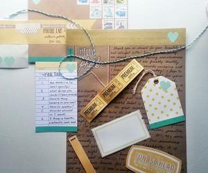 crafts, diy, and envelope image