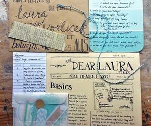 air mail, diy, and love letter image