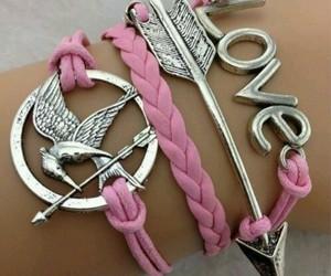 bracelet, love, and arrow image