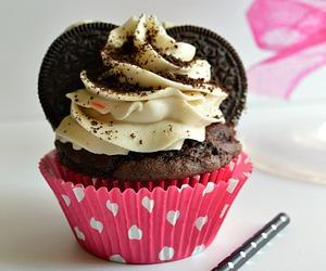 cupcake, cute, and dessert image