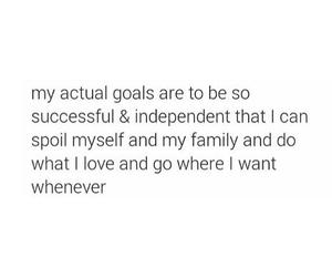 family, goal, and goals image