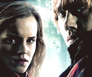 deathly hallows, harry potter, and romione image