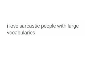 large, people, and sarcasm image