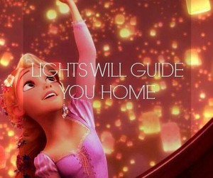 light, disney, and tangled image