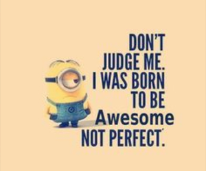 minions, awesome, and quote image