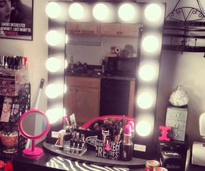 light, makeup, and pink image