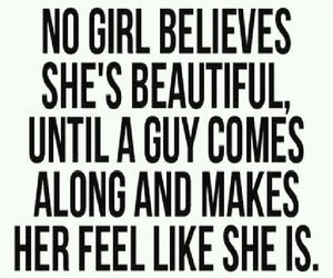 beautiful, girls, and lovequotes image
