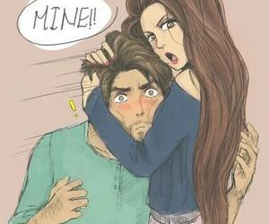 love, mine, and couple image