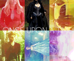 emma, once upon a time, and peter pan image