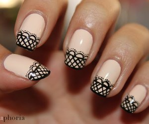 nails and lace image