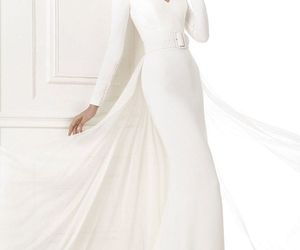 elegant and evening gown image