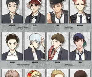 exo, exo-k, and exotic image