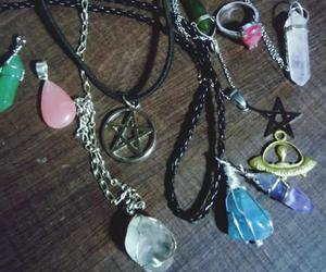necklaces, accesories, and grunge image
