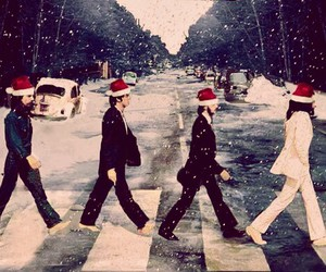 christmas, the beatles, and beatles image