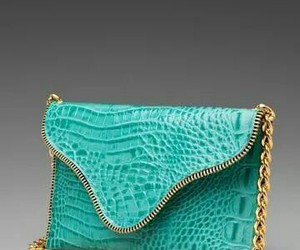 bag, blue, and beautiful image