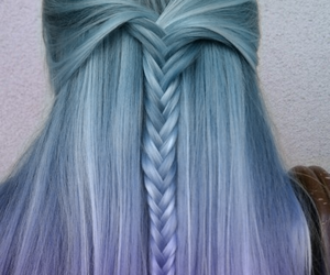 blue, braid, and different image