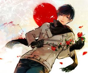 hetalia, anime boy, and aph japan image