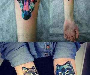 animal, tattoo, and тату image