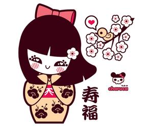 kawaii, charuca, and japanese image