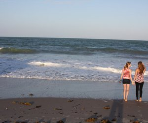 beach, best friends, and florida image