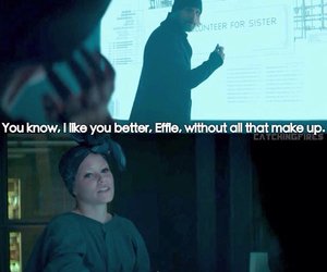 hunger games, effie, and love image