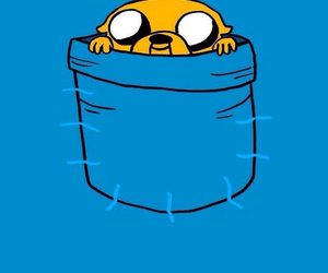 JAKe, adventure time, and blue image