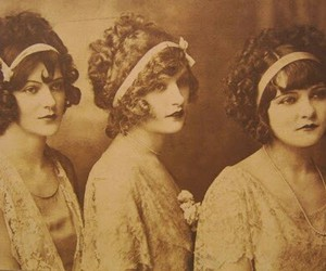 vintage and women image