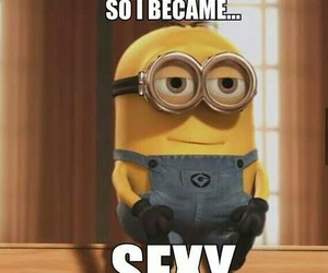 minions, sexy, and funny image