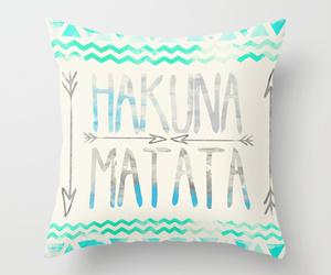 hakuna matata and pillow image