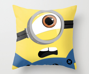 minions, cute, and pillow image