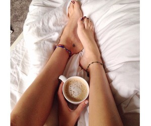breakfast, small tattoos, and hot chocolate image