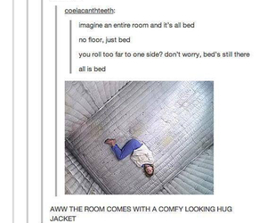 beds, everywhere, and funny image