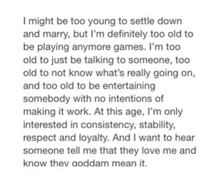 age, falling in love, and I Love You image